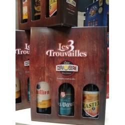 COFFRET 3 TROUVAILLES 75CL