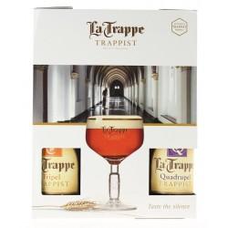COFFRET TRAPPE 4X33CL + 1...