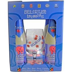 COFFRET DELIRIUM 4X33CL + 1...