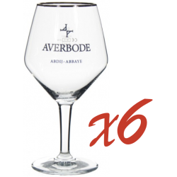 LOT 6 VERRES AVERBODE 33CL