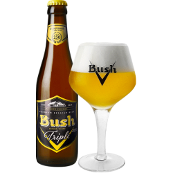 BUSH BLONDE TRIPLE 33CL 10.5%
